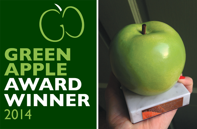 Green Apple Award Winner 2014